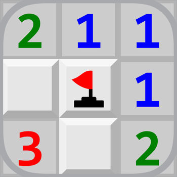 Minesweeper - Minesweeper is classic strategy board game.Guess where mines are hidden and flag all of them. Game features: * classic and learning mode with undo * adjustable minefield look * optional sound effects * win score with GameCenter leaderboard * no interference with iPod music