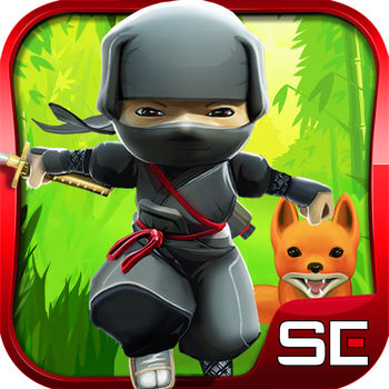 Mini Ninjas - JOIN THE MINI NINJAS – THE SMALLEST HEROES TAKING ON THE BIGGEST DANGERSMini Ninjas is the ultimate Ninja game.  Based on authentic ninja values, this beautiful, fast paced, fun adventure game takes you on an epic and exciting journey, free from gruesome violence and high on Ninja fun.Invite and challenge your friends on Facebook. Check out new scores in the High Score table and see the exact moment you beat your friends' scores as you play.FAST PACED ACTION PACKED ADVENTURE!Join Hiro and his Mini Ninja friends as they run, jump and slash their way through amazing spellbound lands to retrieve the stolen artefact from the dragon. Do battle with the Evil Samurai Warlord's magical army and look out for the Flying Samurai MonksInvite and challenge your friends on Facebook. Check out new scores in the High Score table and see the exact moment you beat your friends' scores as you play.COLLECT AND CRAFT MAGICAL POWERSBuild up your Kuji energy and power by freeing trapped animals, destroying obstacles and taking Samurai warriors. Then create Kuji Magic spells to trigger some spectacular attacks and power ups!FREE YOUR MINI NINJA FRIENDSSmash the cages to rescue your Ninja friends and then use their unique skills and weapons to fight the Samurai. Play as one of 4 Ninja heroes: Hiro, Futo, Suzume and Kunoichi• As Hiro use iconic Ninja moves with wall runs and master the powerful Kuji Magic • As Suzume use your magic flute to attract collectibles or to attack enemies• As Kunoichi use your staff to perform massive attacking jumps • As Futo use your massive hammer to destroy rocks everything around youCUSTOMISE YOUR CHARACTERSVisit the Dojo and customise your Mini Ninja with cool new outfits, disguises and weapons. FREE THE ANIMALSPossess the animals you have freed to use their special abilities.  The Panda, Fox and Crane all provide new ways to attack the Samurai.Join the Mini Ninjas now and show off your Ninjas skills.** FEEDBACK ** Love Mini Ninjas! Please be sure to rate the game and tell us what you think at www.minininjas.com Your feedback will help us to make the Mini Ninjas even better Discover more great mobile games from Square Enix and great deals, plus the latest game updates, tips, and more! VISIT US: www.square-enix.com/eu/en/ FOLLOW US: www.twitter.com/Square_Enix_EU LIKE US: www.facebook.com/SquareEnix