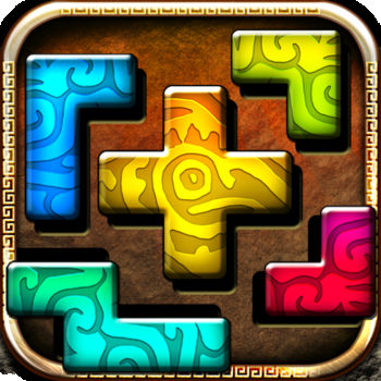 Montezuma Puzzle - Montezuma Puzzle is a relaxing and logical tiling Puzzle game in the Ancient Aztec Empire scenery. Arrange the puzzle shapes in the right patterns. Sounds simple?  Try out! Features:-400 unique patterns to arrange-easy and intuitive -one touch control system-ready for iPhone 5-delightful graphics and chill music-unlimited hints *********Try also Montezuma Puzzle 2**********