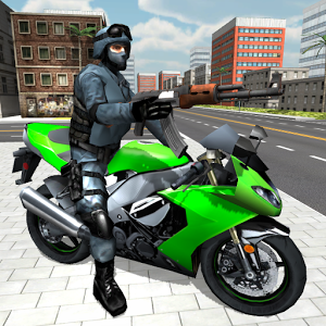 Moto Shooter 3D - Become a moto shooter - hop on your motorcycle, shoot enemies and destroy them.