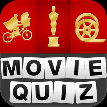 Movie Quiz - Guess the movie! - The most popular movie quiz has finally arrived.The concept is simple, you have 4 pictures and you must guess which movie it is! How many will you be able to recognise?Come and test your skills!Only 2% of players have managed to finish the game!PLAY IT NOWWhether you are on a plane, at your place, or even at work you can take part in the fun and test your knowledge!The only rule: guess the movie!Movies from all countries!No sign-upPlay offlineUNLIMITED FUN Hundreds of movies available!New movies added regularly in real-time. No need to update to continue playing!A CONTINUOUS CHALLENGE Able to find all the movies? Some levels too easy? Don\'t worry, the next ones will be much harder :)