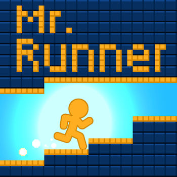 Mr.Runner - Download now and get San Francisco Mode ($0.99) for FREE!!To celebrate Mr.Runner\'s over 4.5 million downloads, here\'s the huge update for all Mr.Runner fans.************************************What\'s new in version 1.3.3:- Watch our new game trailer to unlock San Francisco Mode ($0.99) for FREE!!- Minor bug fixes************************************What\'s new in version 1.3.2:- New leaderboard: Total Distance- Option to disable YoMama jokes************************************NEW FEATURES:* POWER-UPSIncreasing fun with 4 unique power-ups!* SMASH MR. RUNNERA brand new game exceeding your expectations.* San Francisco 1Km RunA new level with old school pixel art.* EASTERN EGGSCollecting 7 hidden eastern eggs to gain a surprise gift.* GAMECENTERFull Gamecenter support, includes Achievements and Leaderboards now!* FREE BONUSMany ways to gain more life points.* YO MAMA JOKESWhat?  Yo Mama jokes?  Yes!BTW, Mr.Runner wallpapers are available at our website http://www.zinggames.net/blog.asp now!!************************#1 overall app in many countries!*******ATTENTIONS******** EASY, FUN AND RELAXING GAME PLAYSpeed up or slow down running to stay in safe zones and avoid falling blocks* LIFE AND TIME MODESExplore the game world in a time limited mode or life limited mode* STYLISH GRAPHICSExplore a black and white world full of wonders and distinct landmarks* ENJOY IT FOR FREEDon\'t hesitate to download this simple and fun game! Enjoy!