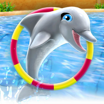 My Dolphin Show: Waterpark, sea animals simulation - - YOUR FAVORITE DOLPHIN GAME JUST GOT EVEN BETTER! -Now's your chance to become a dolphin trainer! With more than 20 million downloads, My Dolphin Show is loved by dolphin fans all over the world! Teach your dolphin incredible tricks, then put on shows that will make the audience go wild. Your performances will take you through seven awesome locations including Las Vegas and Hawaii, where you'll get the opportunity to show off your dolphin's new skills! TEACH TONS OF TRICKS & CREATE YOUR OWN LEVELS There are more than 80 tricks to teach your dolphin, including crazy corkscrews, dazzling donut jumps and a piñata smash! Pick your favorites and combine them in awesome new levels that you create yourself. It's easy! Your levels can be played by your friends and other players from around the world. They will rate your levels and help you climb to the top of the leaderboard. Of course you can just play other players' levels too – choose from over half a million levels that already have been created!DRESS UP YOUR DOLPHIN!Collect coins as you swim and dive in the pool, and use them to buy new stuff. Have you ever seen a dolphin dressed as a princess, or a cheerleader? How about a fairy, or a bride? There are tons of gorgeous outfits you can choose from to make your new dolphin BFF look fabulous. You can even pick new animals and characters, such as an orca, shark, mermaid, or even a unicorn! With more than 40 options to choose from, you'll have endless fun! FABULOUS FEATURES- Safe fun for kids of all ages- Become an expert dolphin trainer- Perform in 7 worlds with 200+ levels!- Teach your dolphin 80+ tricks - Collect coins and stars!- Create your own levels!- Choose from 500,000+ levels created by other players- Pick from 40+ outfits to dress up your dolphin - Play with crazy new characters - Enjoy amazing HD graphics- Play anytime, anywhere, no wi-fi neededThis game for girls and boys of all ages is free to play. So, are you ready to wow audiences worldwide with the tricks you've taught your favorite animal? Dive straight in!