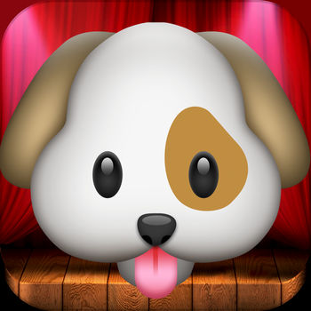 My Talking Dog Emoji - Free for a LIMITED time!Talk and hear what the Talking Dog repeat back to you in his doggy way.Tap the left button, to record and send a special video message with the Talking Dog voice today!Tlick the middle button to enable story telling mode. Talk and watch the dog move his mouth while you\'re talking.Enjoy and laugh now!