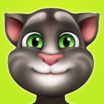 My Talking Tom - Discover the #1 games app in 135 countries! Adopt your very own baby kitten and help him grow into a fully grown cat. Take good care of your virtual pet, name him and make him part of your daily life by feeding him, playing with him and nurturing him as he grows. Dress him up any way you like and pick from a wide selection of fur colors and other accessories. Decorate his home and travel the world to meet other Toms. Play mini-games and watch as Talking Tom becomes part of your everyday life.FEATURES: - Play over 10 mini-games: Happy Connect, Bubble Shooter, Planet Hop and more! Earn gold coins and have fun!- Nurture your very own Tom: Play games with him, feed him his favorite foods, tuck him into bed. - Collect flight tickets and travel around the world to meet other Toms. Fill your album with postcards from different places and unlock clothes fit for a true adventurer.- Enjoy life-like emotions: Tom can be happy, hungry, sleepy, bored... his emotions change according to how you play with him. - Unleash your creativity: Create your very own Tom by choosing from 1000's of combinations of furs, clothing and furniture. - Get rewards as you progress: Help Tom grow through 9 different stages and 999 levels unlocking new items and coins as you go! - Interact with Tom: Talk and Tom still repeats everything you say. Poke, stroke and tickle him, and watch how he responds.This app is PRIVO certified. The PRIVO safe harbor seal indicates Outfit7 has established COPPA compliant privacy practices to protect your child's personal information. Our apps do not allow younger children to share their information.This app contains:- Promotion of Outfit7\'s products and advertising- Links that direct customers to our websites and other Outfit7 apps- Personalization of content to entice users to play the app again- The possibility to connect with friends via social networks- Watching videos of Outfit7\'s animated characters via You Tube integration- The option to make in-app purchases- Items are available for different prices in virtual currency, depending on the current level reached by the player- Alternative options to access all functionalities of the app without making any in-app purchases using real moneyTerms of use: http://outfit7.com/eula/Privacy policy: http://outfit7.com/privacy-policy/
