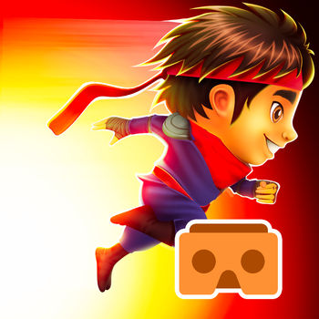 Ninja Kid Run VR: Runner & Racing Games For Free - Play the most EXCITING RUNNER game on the Appstore Now with a VR mode: Be a NINJA for a day and RACE through the city!- Swipe to ESCAPE from obstacles- JUMP to avoid blocks- DUCK to avoid being hit- SHOOT stars to break objects- RACE as fast as possible!- Very EASY CONTROLS (swipe and touch Screen)Go as far as possible and collect coins to beat your FRIENDS!