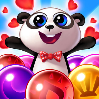 Panda Pop - Blast bubbles, save baby pandas! Play Free!Plan your every pop to rescue cute baby pandas! An evil baboon has kidnapped & trapped precious panda pups in the jungle. Blast, match, and pop bubbles to help beat him & return the cubs to their worried mother!Work your way through increasingly challenging puzzles and employ the power of the elements to help you in your Panda Pop quest. Use epic bubble shooter power ups to free the pups… combine them for even greater effect! FEATURES:1000+ levels with uniquely challenging obstaclesCheck back often for new events and free rewardsUse power ups to make smart movesMatch 3 bubbles & fill lanterns to create supercharged matchesPLUS:This game is social! Connect to Facebook & play Panda Pop with friends!Enjoy special rewards & events all the time!Connect seamlessly across multiple devices and platforms!Get poppin\' on your iPhone or iPad today...LIKE: On Facebook to get the latest news and rewards!FOLLOW: @playpandapopSUPPORT: https://pandapop.zendesk.com/homePlease Note! While Panda Pop is free to play and enjoy, some in-game items and functions can be can be purchased for real money. If you don\'t want this option enabled, please disable in-app purchases. www.sgn.com/privacyDEVELOPER INFO: Jam City is the leading developer in truly cross-platform social gaming! Chart-topping hits include Cookie Jam, Sugar Smash: Book of Life, Juice Jam, Genies & Gems, and so many more! Check out our other free match 3 puzzle games! You\'ll love to swap, match, and crunch through ever expanding levels and events. Check back often to see all the new candy, cake, and sweet treats that we\'ve added! You\'ll love to crush through each sweet puzzle. Begin your adventure on one of our free match three puzzle games today!