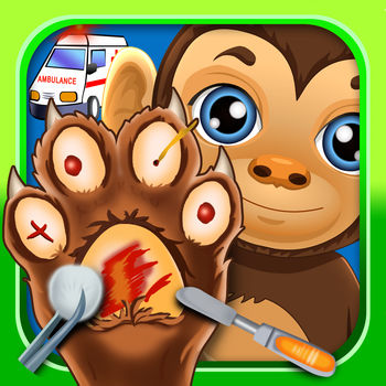 Pet Foot Doctor Salon - Games for Kids Free - Play as a doctor and help cure the feet of these cute pets!!These adorable pets need your help!! Be the best pet vet that you can be and help the hurt animals!