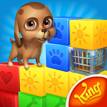Pet Rescue Saga - From the makers of Candy Crush Saga & Farm Heroes Saga, King presents Pet Rescue Saga!Match two or more blocks of the same color to clear the level and save the pets! It's your job to create matches and free the pets, but remember - moves are limited so plan them carefully. Your puzzle skills will be tested with hours of cube matching fun!Challenge yourself to this puzzling saga on your own, or play your friends to see who can get the best score! *** Downloaded over 150 million times! - Thanks to all our fans ***Pet Rescue Saga is completely free to play but some in-game items such as extra moves or lives will require payment. You can turn off the payment feature by disabling in-app purchases in your device's settings.------------------------------- Pet Rescue Saga Features; • Lovable pets of all varieties - puppies, pandas, piglets and many more!  • Eye-catching graphics and colorful gameplay  • Diamonds, exploding bombs, colorful paint pots, locked animal cages and much more  • Spectacular boosters and bonus rewards unlocked after many levels  • Easy and fun to play, challenging to master  • Hundreds of pet puzzling levels - more added every 2 weeks! • Leaderboards to watch your friends and competitors! • Easily sync the game between devices and unlock full game features when connected to the Internet------------------------------- Already a fan of Pet Rescue Saga? Like us on Facebook or follow us on Twitter for the latest news: facebook.com/PetRescueSaga twitter.com/PetRescueSagaLast but not least, a big THANK YOU goes out to everyone who has played Pet Rescue Saga!
