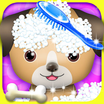 Pet Spa & Salon - kids games - Everyone loves the cute pet. Our spa specialises in making-up for pets, so if you love your pets, please bring him to here, we will let him become the most beautiful pet.