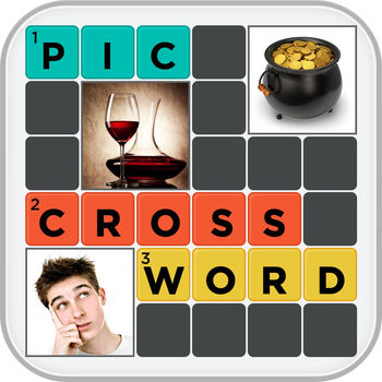 Pic Crossword Puzzles and Quiz Challenge Free - CROSSWORDS REDEFINED!!!!Forget the old Newspaper Crosswords Solve Crosswords a Brand New Way !!!Instead of regular hints we will give you picture clues to solve a crossword, Lets see how smart you are at solving crosswords a new way !!!23 Modes : Christmas Crosswords8x8 Grid Crosswords10x10 Grid CrosswordsMovies CrosswordRiddles CrosswordAnimals CrosswordFood CrosswordDrinks CrosswordsDoodle CrosswordCeleb Last Names CrosswordSports CrosswordLogos CrosswordClose Up Pics CrosswordCountries CrosswordClose up Celebs CrosswordMovie CharactersTv CharactersUK CelebsWe Surveyed 101 People CrosswordName the Restaurants CrosswordName the Game Crossword2 Become 1 CrosswordFunny Lines Crossword With hundreds of levels you will never get tired of solving crosswords in PIC CROSSWORDAll the Best !!!
