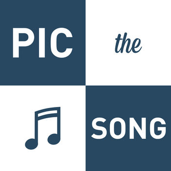 Pic the Song - Music Puzzle Game - Pic The Song is the most fun way to discover and buy music on iTunes! Look at the 4 pics and see if you can guess the song! * Play over 1000 levels! Some are easy, some are impossible. See if you can collect all the gold records!* Like the song you just guessed? Buy it instantly on iTunes!* No signup. No registration. Just play!* Helpful hints. Don\'t worry about getting stuck. Plenty of hints will help you level up fast.