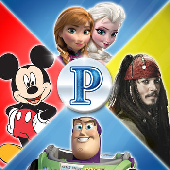 "Pictopia: Disney Edition - Discover playful trivia spanning decades of Disney magic, from the animated classics and blockbuster movies to television hits and dazzling theme park destinations. Image-based questions celebrate touchstone characters like Mickey Mouse, Cinderella, Jack Sparrow, Buzz Lightyear, and Elsa from Frozen. Challenge your Disney knowledge alone through solo play, or have a trivia party with your friends—there's something for everyone!Features:MATCH THE FANS — Test your wits with bonus trivia where you try and guess the most popular answer according to the fans!BUILD YOUR PROFILE — Choose your very own avatar with a catalog of Disney characters. Play as Belle or even Kermit the Frog!PLAY WITH THE BOARD GAME — Add even more questions to your Pictopia board game with a ""Play with the Board Game"" mode. Also includes a nail-biting Final Challenge round to take board game play to the next level!"