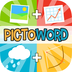 Pictoword: Word Guessing Games - * Featured on App Store! Most Popular Word Games in 30 Countries! * Looking for free word games to play with friends? Both adults and kids will love this amazing new word game.
