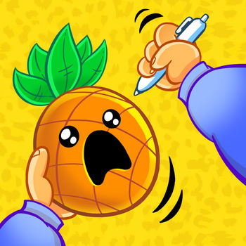 Pineapple Pen - Sometimes all you need is to stick a pen into a fruit.Tap to throw the pen and try to hit an pineapple or an apple. Hit the perfect center for two times in a row, and experience joy!Challenge your friends to find out which one of you is the true master of the pen!