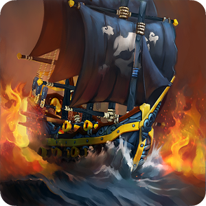 Pirate Battles: Corsairs Bay - • Turn-based, multiplayer strategy game • Invite Facebook contacts as friends or foes • 4 types of battle, 9 types of pirate ship • 300 levels, plus bonus levels • Random battle events including appearance of monsters • Fun features include stealing your friends' gold Land ahoy, me hearties! Stand up, the new Jack Sparrow.
