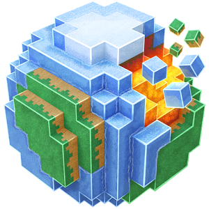 PlanetCraft - Build virtually anything from blocks by your own or together with your friends or random people from around the globe via multiplayer.