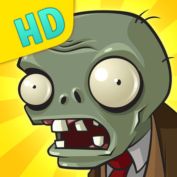 Plants vs. Zombies HD - The game requires iOS 6 compatible device.Get ready to soil your plants in this high-definition, multi-touch adaptation of the PopCap hit! Winner of over 30 Game of the Year awards.* Plants vs. Zombies™ was spawned from the fertile minds that created Bejeweled®, Peggle®, Zuma® and Bookworm®. WINNER OF OVER 30 GAME OF THE YEAR AWARDS*A mob of fun-loving zombies is about to invade your home. Defend it with an arsenal of 49 zombie-zapping plants that will slow down, confuse and mulchify all 26 types of zombies before they reach your door.Game Features:MULTIPLE FUN-DEAD GAME MODESConquer all 50 levels of Adventure mode. Take on Mini-Games and the ultra-challenging Survival mode. Replay your favorite levels with Quick Play. Relax and start a plant collection in Zen Garden. And take on Vasebreaker Endless and I, Zombie Endless.22 MINI-GAMESTry new ways to zap zombies in Slot Machine, Zombiquarium, Portal Combat, Beghouled Twist, and the iPad-exclusive Buttered Popcorn.NOT YOUR GARDEN-VARIETY GHOULSBattle 26 kinds of zombies: pole-vaulters, snorkelers, bucketheads and more. Each has its own special skills, so you\'ll need to think fast and plant faster to combat them all.SMARTER THAN YOUR AVERAGE ZOMBIEBe careful how you use your limited supply of greens and seeds. As you battle the fun-dead, obstacles like a setting sun, creeping fog and a swimming pool add to the challenge. FIGHT LONGER, GET STRONGEREarn 49 powerful perennials and collect coins to buy a pet snail, power-ups and more!BONE UPUnlock the Almanac for the full story on your plants and your zombie foes.GROW WITH YOUR GAMEEarn 45 special achievements and show off your zombie-zapping prowess.LEADERBOARDSSee where you rank in five unique Game Center leaderboards. COIN PACKSNeed coins for great new stuff? Buy up to 600,000 coins right from the Main Menu.*Refers to original Mac/PC downloadable game.Discover More Plants vs. Zombies Fun:Follow us on twitter.com/PlantsvsZombiesFind us on www.facebook.com/PlantsversusZombiesMore Apps from PopCap:BEJEWELED® — Match sparkling gems in the world's #1 puzzle game.SOLITAIRE BLITZ™ – Discover a whole new world of Solitaire in this fast-paced treasure hunt!PEGGLE® — Clear the orange pegs in this epic blend of luck and skill.BOOKWORM® — Feed your appetite for fun in THE brain-tickling word puzzle gameCHUZZLE® — Slide and match cute, cuddly — and surprisingly explosive — furballs.BEJEWELED® BLITZ – Enjoy one minute of endless gem-matching awesomeness.POPCAP MAKES LIFE FUNVisit us at PopCap.comFollow us on twitter.com/PopCap Find us on facebook.com/PopCap