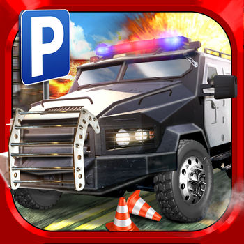 Police Car Parking Simulator Game - Real Life Emergency Driving Test Sim Racing Games - Calling all Cars! Get your 'Cops' hat on and take on 3 New & Unique ORIGINAL Mission types in the detailed Realistic City! With Real Traffic and Real Jobs comes Real Danger! Police Driver Simulator is the most exciting High-octane pressure you've ever experienced in a Parking Game! 3 FUN NEW MISSION TYPES…Street Patrol: drive the patrol route, avoiding traffic and QUICKLY get to the target to score BIG POINTS!Bomb Squad: respond to threats around the city, by driving and parking the huge Bomb Specialist Truck to DIFFUSE THE BOMBS before they go off!Car Chase: a HIGH-SPEED race through the City! Chase the suspects and catch them before they escape!GAME FEATURES? Fun and Exciting Police Driver Assignments!? Detailed 3D City environment with Dynamic moving traffic!? 3 different Mission Types in a 100% Free-2-Play Career Mode? Experience and hone the unique driving skills required for Street Patrol, Bomb Squad and Chase Missions!? Customisable control methods (tilt, buttons, wheel)? Multiple views (including Drivers Eye view with real mirrors!) ? Easy modes available (with separate leader boards) as optional in-app purchases, designed for an easier ride!? iOS Optimisation: runs perfectly on anything from the original iPad 1 to the latest 5th Generation widescreen devices.Get your Police Driving License today and become the Top Sheriff in the City!PLEASE NOTE: This game is free to play, but charges real money for fun additional in-app content. You may lock out the ability to purchase in-app content by adjusting your device's settings.