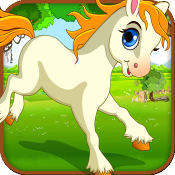Princess Unicorn - Day Race in Hay Forest - Check out this fun loving cute princess unicorn running game.Join this fun baby unicorn jump through and avoid obstacles. Fun for all.Try it out today!