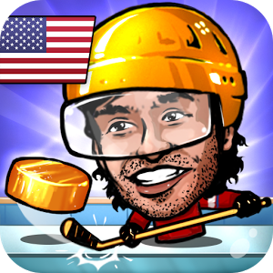 Puppet Ice Hockey: Pond Head - Sharpen your skates, put on your jersey and grab your hockey stick.
