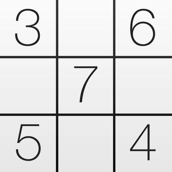 Pure Sudoku - Simple, beautiful, and wonderfully intuitive: Pure Sudoku has the highest quality puzzles in 6 difficulty levels. Each puzzle is extensively tested for quality. You will never find a better sudoku app in the App Store :)