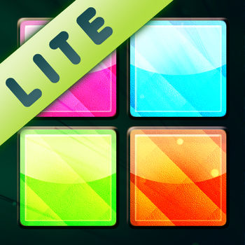 Puzzle Star Lite - This is the Lite version of Puzzle Star, the star of all puzzle games! So much fun you won\'t be able to stop! Clear groups of similar squares by tapping on the screen, but pay attention! The more squares in a group, the higher your score when you tap! What may look simple is a true challenge! You will find lots of new levels and increased difficulty in the full version, and the possibility of sharing your higher scores with people around the world!- Incredibly simple but very engaging.- Beautiful graphics and animation.- Infinite levels (yes, infinite!!)- Play with in-game music or listen to your own iTunes music.- Compete with players around the globe in the worldwide scoreboard!-----------------------------------------Visit the official website to see more in-game screenshots and the world wide score board.  puzzlestar.geardome.com-----------------------------------------Get our latest news and discounts:* Follow us on Twitter: twitter.geardome.com* Connect with us on Facebook: facebook.geardome.com* Subscribe to our RSS feed: rss.geardome.com-----------------------------------------