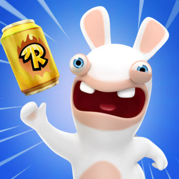 Rabbids Crazy Rush - Get silly like never before in the  wackiest runner game, RABBIDS CRAZY RUSH  ! Run at full speed with the Rabbids on their latest insane plan to reach the moon! How will the Rabbids fulfill their borderline-insane idea this time? Collect cans that will provide the gas to power their moon-bound balloon. It\'s an insane idea, but it might just work! Run, ride, glide and fly with dozens of crazy vehicles, get awesome suits, and be the first among your friends to make it to the moon!Suit up your Rabbids and dash through a variety of places as you guide them to reach the moon. From the creators of the RABBIDS franchise comes the funniest runner yet. RUN, JUMP, RIDE, or even GLIDE  - Use the most hilarious vehicles imaginable as you dodge various obstacles and collect cans WACKY & HILAROUS MISSIONS  - Discover hundreds random and funny missions, such as smashing your Rabbids against walls or getting blown right out of the sky UNLOCK & UPGRADE crazy home-made vehicles  held together by sheer craziness, like a cart propelled by magnets or a giant glider made out of pink pants! DRESS TO IMPRESS  – Suit up your Rabbids and make them stand out! Race as Biker, Luchador, Ninja, or even Captain Underwear and many more suits available. Each suits will provide you powers and extraordinary abilities. WIN BIG AT THE LOTTERY  - Collect hundreds of fragments to win suits from the washing machine lottery PLAY WITH FRIENDS  and compete for the top ranking on the leaderboards!Join the craziest race and unleash the Rabbids' craziness!  Stay tuned for all the latest Rabbids news on:Like us on FACEBOOK: https://www.facebook.com/Rabbids Follow us on TWITTER: https://twitter.com/RabbidsOfficialCheck out our videos on YOUTUBE: https://www.youtube.com/RabbidsPLEASE NOTE:• This game is free to download and free to play but some game items can be purchased for real money. You can disable in-app purchases in your device\'s settings. • This game contains advertisements.• This game is optimized for iPhone 5/iPad 4 and higher. We cannot guarantee a satisfying gaming experience on lower devices.Terms of service: https://legal.ubi.com/termsofuse/Privacy Policy: https://legal.ubi.com/privacypolicy/Support:  Having problems? Contact us at https://support.ubi.com/