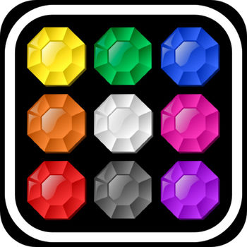 Rainbow Jewels: Connect Matching Color Dots Puzzle - ••••• \
