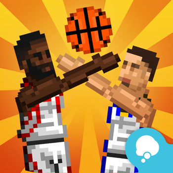 Real Bouncy Basketball - Bouncy Basketball is a one-button, 2D physics-based, pixel art basketball game.* Perform breathtaking, screen-shaking slam dunks* Score regular 3-pointers and 2-pointers, or buzzer beaters* Steal the ball from your opponent* Choose between 1, 2, 3 or 4 quarters with a duration of 30, 60 or 90 seconds each* Unlock and play with as many as 30 teams* Customize the teams and choose their players* Watch and share replays with EveryplayChallenge your basketball-loving friends to fierce basketball battles on a shared screen, or simply play against the CPU if you don\'t feel like jeopardizing your friendships.Bouncy Basketball combines the random fun and addictiveness of 2D physics-based gameplay with the satisfying feeling of outsmarting opponents with your finely honed skills and clever tactics.In Bouncy Basketball, no one game is like the other!