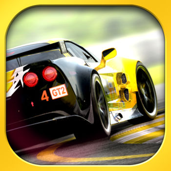 "Real Racing 2 - **Fully enhanced for iPhone 5.**Get ready for the most exhilarating handheld racing experience! Take control of 30 officially licensed cars, each with unique performance characteristics. Feel the thrill of authentic pack racing action in an incredible 16-car grid – the first on iOS!PRAISE FOR REAL RACING 2 ON iPHONE""10/10 …The epitome of iPhone and iPod touch gaming."" – Pocket Gamer, Platinum Award""4/4 MUST HAVE …Singlehandedly redefines racing excellence on the iOS platform."" – Slide To Play""5/5 MICE …Real Racing 2 is the most visually stunning, feature-complete racing game for iOS."" - Macworld"" …Easily one of the best games of 2011."" – CNET"" ...Do not miss this game."" – TouchArcade?  Get to know meticulously detailed cars including the 2010 Ford Shelby Mustang GT500, 2010 Nissan GT-R (R35) and 2012 McLaren MP4-12C. See the full list at http://firemint.com/r2.?  Enjoy well over 10 hours of gameplay in the massive career mode with time trials, head-to-head races, eliminations, single 'cup' races, qualifiers and championships. Win races to purchase new cars and feel the difference with performance upgrades that affect handling. Work your way up from rookie to pro, or just jump into a Quick Race for instant fun.?  Play wirelessly on your HD TV through AirPlay and an Apple TV, challenge friends to a split screen multiplayer race with Party Play and enjoy enhanced visuals – for iPhone 4S only! ?  Find out who the real champion is! Enter auto-matched 16 player online races. Meet up with friends for 8 player local WiFi races. Compete on global leaderboards in Time Trials. ?  Race in 15 beautiful locations, with 40 miles of highly detailed race tracks, speedways and city circuits including twilight and night races.?  Choose control options to suit your personal style.  Earn the checkered flag with our intuitive and easy to master controls or take things up a notch by disabling all driving assists. Set anti-skid, steering assist and sensitivity, automatic or manual acceleration and brake assist level. Touch or tilt to steer.?  Cutting edge graphics and physics powered by Firemint's exclusive high performance Mint3D™ engine - optimized to push OpenGL ES2 and retina display technology to the limit, and fine tuned for the best experience on older devices. Start your engines and get into the best handheld racing experience - ""Buy Now"", or surprise a friend and ""Gift this App""!--------------------------------------------------------------?  For more information or support please visit      http://www.firemint.com---------------------------------------------------------------Requires acceptance of EA's Privacy & Cookie Policy and User Agreement."