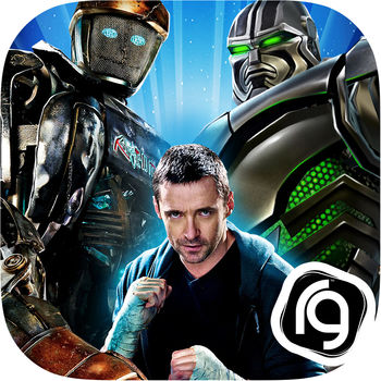 Real Steel - Champions aren\'t born. They\'re made!!A Smash Hit with over 10 Million Downloads.– GIZMODO: \
