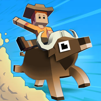 Rodeo Stampede - Sky Zoo Safari - Valentine's Day Sale! For a limited time App Store promotion, show your zoo some love with the Epic Animal Bundle! The Cash Cow, Mission Mule, and Revive Raven can all be yours at 50% off their original value!Zoo tour coin packs are also 30-40% off!Saddle up and get ready to wrassle with the stampede-iest critters this side of the Savannah. Lions and Tigers and Bears are no match for this rodeo star. Armed with a lasso and a ten gallon hat, swing from the backs of stampeding buffalo, elephants, ostrich and more. Hold tight atop these bucking beasts and you might just win their hearts. When the stampede's over, the zoo begins! Fill enclosures with your four-footed friends and let your patrons gaze in wonder. This is one wild ride that you will not want to miss - YEEHAW- Ride through the wild stampede on the backs of buffalo, elephants, and all types of exotic animals- Dodge and avoid obstacles in your chase for high scores- Travel across the Savannah and Jungle, with more exciting landscapes to come!- Catch and befriend animals of all shapes and sizes to show off in your Sky Zoo- Invite visitors to come admire your collection- Expand and Manage your zoo to earn huge rewards from visitors