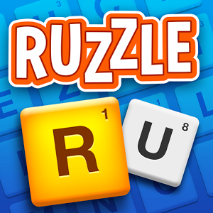 Ruzzle Free - - Top 10 word game in 145 countries- Over 70 million players - So addictive, it has been played for a total of 100 000 yearsRuzzle is a fast-paced and addictively fun word game. Challenge your friends or random players to find as many words as possible in two minutes. Swipe over the scrambled letters to form the words and use bonus tiles to collect more points than your opponent. The game is played in three rounds, each played whenever suits you. Have two minutes to spare? Challenge yourself and your friends in Ruzzle! Ruzzle can be played in 14 languages.--Ruzzle has been lovingly created by MAG Interactive, where we take fun seriously.Join a global audience of more than 100 million players and check out some of our other chart-topping hit games like WordBrain, Wordalot, or Ruzzle Adventure!We really value your feedback, go to https://www.facebook.com/ruzzlegame and say what\'s on your mind!More about MAG Interactive at www.maginteractive.comGood Times!