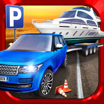 "RV & Boat Towing Parking Simulator Real Road Car Racing Driving - Time to catch some rays! Prove your Parking and Towing Prowess in all-new exciting missions at the beautiful Beach Resort. Drive Camper Vans and Tow Trailers, Boats and Caravans. Even drive a large coach full of tourists on their vacation! Each vehicle will test your driving skills in different ways. We're sorry but it won't leave you much time for sun-bathing _____________________________PERFECT PARKINGDrive a wide selection of challenging vehicles, including towing a huge Boat, Caravans, a Jet Ski and manhandling a massive Tourist Coach. Can you keep control and make it through all the challenges without crashing?_____________________________BEACH RESORTDiscover the majesty of the beautiful beach resort! Explore miles of beautiful mountain roads to find all of the various sights and sounds the area has to offer! Can you find the lighthouse, pier, jetty, diner and all the picturesque picnic sites? _____________________________FREE TO PLAYThe main game mode is 100% FREE-to-Play, all the way through, no strings attached! Extra game modes that alter the rules slightly to make the game easier are available through In-App Purchases. Each mode has separate GameCenter leaderboards to make for totally fair online competition!_____________________________GAME FEATURES	? EXCITING: drive 6 unique vehicles including Caravans, Towing Boats and a Jet Ski, 2 Motorhomes and Camper Vans and a huge Coach Bus.? CHALLENGING: learn to park a wide range of vehicles? REALSISTIC: explore a beautiful beach-side resort and miles of stunning mountain roads? 100% Free-2-Play Missions? CONTROLS: Choose between Buttons, Wheel and Tilt. ? Includes MFi Game Controller Support? CAMERAS: Multiple cameras including a First Person view  ? OPTIMISED: Runs on anything from (or better than) the iPhone 4, iPad 2, iPad Mini & iPod Touch (4th Generation)-------------------------------------------------From the creators of ""The Best Parking Games on the App Store"" (a comment given by many of our happy players!). See our other games for many more exciting Parking Simulator games!"