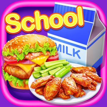 School Lunch Food! - Hmm~ The school cafeteria food? GROSS! It\'s time to take matters into your own hands. Put on your chef hat and head to the kitchen! We\'re going to make the ultimate lunch food: hamburger, buffalo wings, juice & milk. Great, Let\'s play.Product Features:- Fun, interactive food making game.- So many kinds of school lunch foods to choose from.- Create your own lunch food from scratch.- Use a variety of delicious flavors for each lunch food.- Decorate kinds of lunch food & Design the lunch box in your own style.- Endless mix and match fun with tons of food options and stickers to make your best school lunch ever!- Enjoy your lunch food in school with the best friends.How to play:- Star from choosing your favorite food. Hamburger, Buffalo Wings or Juice & Milk.- Take different courses for all the foods and lunch box decorating.- Add & Mix various ingredients to create the unique flavor of your school lunch.- Create your school lunch food with tons of side dishes, fruits and stickers.- Pick the lunch box you like, paint it as you like and mark it with tons of stickers.- Take the yummy school lunch to school to show off to your classmate- Take a photo to share with the best friends and family.Want to know more about us? Having problems or suggestions? You could find us by: - Visiting our official site at http://www.crazycatsmedia.com- Following us on Twitter at https://twitter.com/CrazyCatsGame- Like us on Facebook at https://www.facebook.com/Crazy-Cats-Media-Inc-1510884179162522/