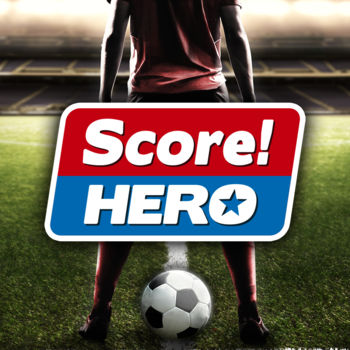 Score! Hero - Score! Hero, from the award winning makers of Score! World Goals, Dream League Soccer & First Touch Soccer.BE THE HERO! Pass, Shoot & Score your way to legendary status, as you explore the dramatic career of your HERO player over 480 challenging levels! Immersive free flowing 3D Score! Gameplay lets you control the action. Split defences with precise through balls, or bend shots into the top corner, putting you in control for an unrivalled mobile soccer experience.Download and play today for FREE!*****************************************************IMPORTANT* This game is free to play, but additional content and in-game items may be purchased for real money. To disable In App Purchases, go to Settings/General/Restriction.* Hero Bux can be earned during gameplay or gained by watching videos, but can also be bought in packs ranging from £0.99 - £28.99* This app uses wifi or mobile data (if available) to download game content and advertising. You can disable mobile data usage on this game from within Settings/Mobile Data.* This app contains third party advertising. Unrequested advertising is disabled if you purchase in game currency from the shop.*****************************************************FEATURES* 480 levels and counting…* Win awards, win trophies, score goals, change clubs, represent your country and go for glory!* New Score! Engine that allows more freedom and strategic play than ever before!* Simple to play, tough to master* Stunning 3D graphics, cut scenes and animations * Customise your Hero player for a unique look and feel* Intelligent AI adapts to your passes, and shots making each play through different* Connect with Facebook to compete against your closest friends!* Game Center achievements & leaderboards to see who ranks on top!* Sync progress between devices with iCloud!* ReplayKit support to save and share your moments of glory!* Engaging Story charting your rise from an aspiring teen to a player making it big!Take your chances, score the goals, be a HERO!*****************************************************VISIT US: firsttouchgames.comLIKE US:  facebook.com/scoreherogameFOLLOW US:  twitter.com/firsttouchgamesWATCH US:  youtube.com/firsttouchgames
