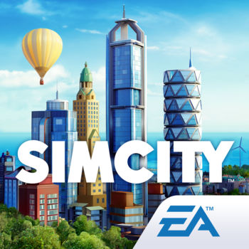 SimCity BuildIt - WELCOME, MAYOR! Build your own beautiful, bustling city where your citizens will thrive. The larger and more intricate your city gets, the more needs your citizens have, and it's up to you to keep them happy. This is an all-new SimCity game – re-imagined for mobile!This app offers in app purchases. You may disable in app purchases using your device settings.BUILD YOUR CITYWith countless buildings and vivid, 3D-quality graphics, this is the most realistic city builder on mobile. Place buildings strategically to keep the taxes flowing and your city growing. Pinch, zoom, and rotate 360 degrees as you manage and expand your city on the go – both online and offline.BRING YOUR CITY TO LIFECreate resources and build up your skyline. Trade resources with friends and other cities. Complete boat orders and ship cargo from your airport. Build Tokyo-style neighborhoods and unlock exclusive landmarks like the Statue of Liberty. Expand along the beach with a marina, waterpark, and more. Unleash natural and not-so-natural disasters, like UFOs. And with Future Cities, you can build and discover innovative technologies like drones, neo-currencies, and high-tech buildings!KEEP YOUR CITIZENS HAPPYSolve real life challenges like traffic, fires, and pollution. Provide services like power plants and police departments to meet your citizens' needs, and boost your population with parks and education. Keep traffic moving with grand avenues and streetcars. Complete fun challenges to shape your society.COMPETE TO EARN REWARDSTake on other players around the world in the Contest of Mayors! Advance through Leagues and make your way to the top. Complete new challenges each week, and climb the ranks all the way to the Megalopolis Elite League. The top Mayors in each League will earn great rewards (and bragging rights)! Build to win and watch your city come to life.--- Terms of Service: http://www.ea.com/terms-of-service Privacy and Cookie Policy: http://privacy.ea.com Game EULA: http://tos.ea.com/legalapp/mobileeula/US/en/GM/ Visit http://help.ea.com/en/simcity/simcity-buildit/ for assistance or inquiries. Important Consumer Information: The app requires acceptance of EA's Privacy & Cookie Policy, TOS and EULA; contains advertisements for EA and its partners; collects data through third party analytics technology (see Privacy & Cookie Policy for details); contains direct links to the Internet and social networking sites intended for an audience over 13; EA may retire online features and services after 30 days' notice posted on www.ea.com/1/service-updates