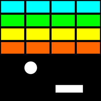 Simple Brick Breaker - Very simple Brick Breaker game.This game has 101 levels.