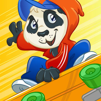 Skate Escape - by Top Addicting Games Free Apps - TOP 100 IN MANY COUNTRIESAmong the Best Free Games on the iTunes App Store Get it WHILE IT\'S FREE! Skating Panda has been naughty! Help him skate away from the big bad cop, while making cool tricks! There are 12 awesome levels, where escaping through the sloping hills gets harder every time… Make sure little racing Panda gets home safe!!! SKATE AWAY! COOL, FUN and EXTREMELY ADDICTIVE game! Skate Escape is truly wicked! Discover the AWESOME SKATEBOARDING ABILITIES of little Panda!! You can also compete and see how quick of a skateboarder you are. You have the chance of beating thousands of other people! Play Skate Escape Free Game! Features: • AWESOME GAME! • The Best Panda game on the App Store! • Facebook, Twitter & E-mail if you want • 12 super thrilling levels!!!! • Check out your statistics after completing each level • Don't let the cop get you!!! • Adorable character: little skateboard Panda! • Retina Display • Show your amazing skateboard abilities! • Addictive gameplay! • And so much more that you can only find out playing! Have fun! Skate Escape Free Game is a fun game brought to you by Best Free Games, Top Addicting Games Apps. Best Free Games has also created other top addicting games for iPhone, iPad and iPod Touch: • TapTap Bubble Top – Free Download: http://bit.ly/TapBubble • Fun Cleaners – Free Download: http://bit.ly/FunCleaners • Crazy Burger – Free Download: http://bit.ly/CrazyBurger • Skate Escape – Free Download: http://bit.ly/SkateEscape • Rocket Soda – Free Download: http://bit.ly/RocketSoda• Flying Bunny – Free Download: http://bit.ly/FlyingBunnyFree• Dog House – Free Download: http://bit.ly/DogHouseFree• Temple Adventure – Free Download: http://bit.ly/TempleAdventure• Like our page > http://www.facebook.com/BestFreeGamesApps • Follow us for FREE Promo Codes > http://www.twitter.com/BestFreeGames4K • Visit and get Support > http://www.bestfreegamesapps.com
