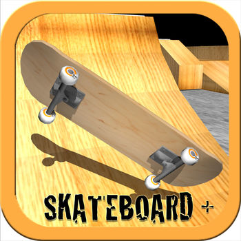 Skateboard+ - Awesome skateboarding game. Skate like a pro, touch based controls to perform tricks, flips and ollies ???Stuff:??- Flip board with finger?- Use finger to push board?- 3D graphics.?- Touch based physics??We hope to update with more awesome stuff soon…** Fixed ad bug where a video ad would play too often **