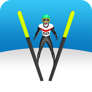 Ski Jump - Ski jump is a retro ski jumping game with 55different ski jumps from K50 to K250.