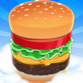 Sky Burger - Build & Match Food Free - OVER *27 MILLION* DOWNLOADS!!!Catch the falling ingredients to build delicious burgers and earn money. Stack your burger into the sky: the better your burger, the bigger your tip! Unlock new burger recipes, new ingredients and new items to dress up your character and customize your food truck. What are you waiting for? Start building your burger now!