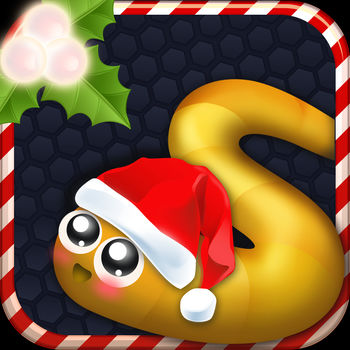 Slither Soldier - Christmas Snake Skins - Snake IO game simulated game Snake on older phones were very familiar to everyone.But with new features allowing players to play online together or play against A.I (offline) makes particularly attractive for video game and fun!Amazing Features:• Allows the player chooses to play online server. Easy to play with friends, easily choose the best server, the fastest• Support 2 game center modes: Online and against A.I. Along with racing top players in the world :)How to play the game:• Control the snake to avoid crashing into the other snakes.• Use a speed button (shaped rocket, the lower right corner of the screen) to run faster. Note when running fast, the snake\'s length will be reduced.• Round (bottom right): Map & your location.• Leaderboard (top right corner): Ranking the top 10 longest snakes.• Your and Your length Rank (bottom left): Length and your ratings.Some gaming experiences when playing snake:• When new to play, go under the large and wait, \