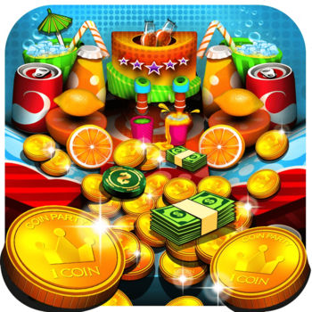 Soda Coin Party: Free Casino Pusher - Push coins, win prizes and chill out in a world full of soda treats. It's the perfect way to pass your time! With simple gameplay and great physics, Soda Party is easy to pick up and fun to play. Join thousands of players happily addicted to the sweetest coin pushing experience on the App Store. Features:Awesome 3D graphics and special effectsMouth watering sweet snacks to collectTons of quests, achievements and leaderboardsTricky magic chips and special powers with upgradesMini games with Slots and a Wheel of FortuneA game that's perfect for kids and grown ups alikeFor support please contact coinparty@mindstormstudios.comVisit our Facebook page at https://www.facebook.com/coinpushergames and join our active community of players.Note: We regularly release updates packed with goodies and more fun!