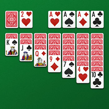 Solitaire free for iPhone & iPad - Solitaire, also known as \'Klondike\', is the classic version of solitaire for iPhone, iPod Touch or iPad!Explore a comprehensive and fun-packed version of solitaire and join the thousands of players already hooked!- \