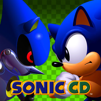 Sonic CD - Sonic travels to the distant shores of Never Lake for the once-a-year appearance of Little Planet - a mysterious world where past, present, and future collide through the power of the Time Stones that lie hidden within it. Sonic arrives only to find the once beautiful world imprisoned beneath a twisted metallic shell. His arch-nemesis, Dr. Eggman, has come for the Time Stones and with them, will soon have the power to control time itself!In order to put an end to Dr. Eggman's nefarious schemes, Sonic must use the power of Little Planet to travel through time; breaking Dr. Eggman's hold over the future by destroying his machines in the past and recovering the missing Time Stones!Featuring Retina Display, achievements, leaderboards and both the US and Japanese soundtracks, experience the epic adventure through time that introduced the world to Amy Rose and Eggman's most evil creation, Metal Sonic.•••••••••••••••••••••••••••••••••••••••• WHAT THE PRESS ARE SAYINGCNET: \
