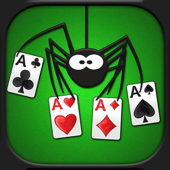 Spider Solitaire Free! - The best Spider Solitaire game, and it\'s FREE!- 40 Beautiful HD Themes- Quick & Easy Gameplay- Over 10,000 known winnable games- 1, 2, 4, suit gameplay- Portrait & Landscape- Hints, Auto Moves, Stats, Layout options.If you like Spider Solitaire please rate it 5 stars!