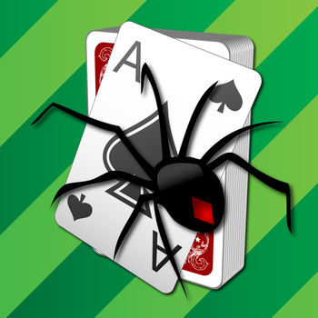 ?Spider Solitaire - Spider Solitaire by Brainium is the #1 classic Spider Solitaire you know and love for your iPhone, iPad, and iPod.We have stayed true to the spirit of Spider Solitaire, and carefully designed a fresh modern look, woven into the wonderful classic feel that everyone loves. In Spider Solitaire, your goal is to build stacks of cards of the same suit from King to Ace.Experience the crisp, clear, and easy to read cards, simple and quick animations, and subtle sounds, in either landscape or portrait views.You can move cards with a single tap or drag them to their destination. You can either play the easy 1-suit games, or if you feel up-to the challenge, try your luck with 2-suit, 4-suit, or even Spiderette game modes.If you enjoy adding a personal touch to your game, customize the backdrop and card backs with photos from your own photo library for unlimited personalization possibilities.Spider Solitaire by Brainium is the most fun, beautiful, and user-friendly Spider Solitaire you've ever played before.Highlights:• 1-Suit games (Easy)• 2-Suit games (Medium)• 4-Suit games (Hard)• Spiderette (played with 1 deck instead of 2)• Portrait or landscape• Crisp, beautiful, and easy to read cards• Efficient, fast, and sensible game interface • Single tap to place a card or drag and drop• Standard Spider Solitaire rules and scoring• Left handed and right handed option• Interruption friendly with auto-save and resume• Smart hints show potentially useful moves• Custom backdrops & cards from your photos• Timer, moves, and statistics• Unlimited undos• Auto complete option to finish a solved game• Global and friends leader boards• Fun & challenging achievements• Show/Hide the battery & time status bar• Universal app for iPhone, iPad, and iPod TouchWe hope you enjoy Spider Solitaire by Brainium, and please contact our five star support if you have any questions :-)For the latest exciting news and updates on Brainium games:LIKE us on Facebookhttp://www.facebook.com/BrainiumStudiosFollow us on Twitter@BrainiumStudiosOr visit us at:http://www.BrainiumStudios.comThanks for playing!