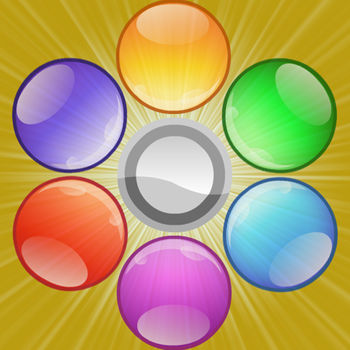 spin-bubble shooter - spin bubble shooter, one of the most played games on the web, is now available for iPhone/iTouch and iPad! Taking more fun and improve your shooting skills by exploding these colorful bubbles! Game Controls: It\'s easy to learn of playing for everyone and get fun in the game. You need to clear all bubbles on the board, by shooting bubbles to matching 3 or more of the same color\'s bubbles and than making them to explode and pop up. Game Features: - Fun for all ages, from 5 to 100.- An unlimited number of Levels. - Unlimited mode that never ends. - High quality graphics and awesome sounds. - Amazing effects and great sense of experience. - Through the leaderboard of gamecenter to show you best.? ? ? ? ? So wonderful,don\'t miss it!!? ? ? ? ?